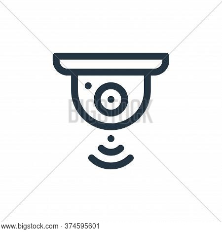 cctv icon isolated on white background from internet of things collection. cctv icon trendy and mode