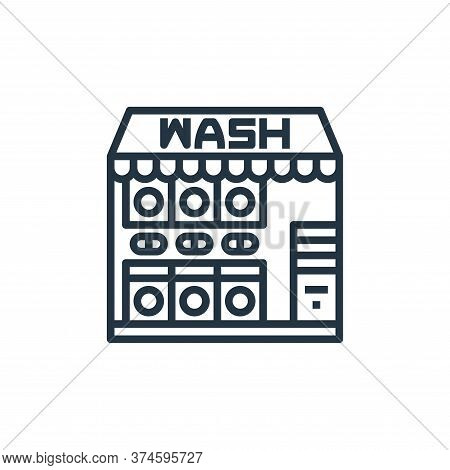 laundry service icon isolated on white background from laundry collection. laundry service icon tren