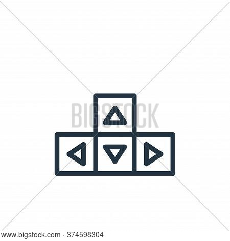 button icon isolated on white background from user interface collection. button icon trendy and mode