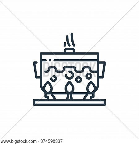 cooking icon isolated on white background from virus transmission collection. cooking icon trendy an