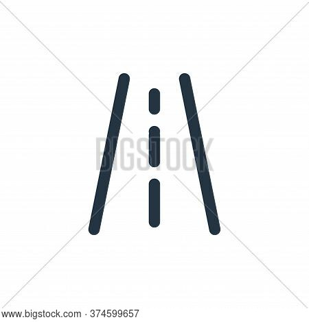 road icon isolated on white background from holiday collection. road icon trendy and modern road sym