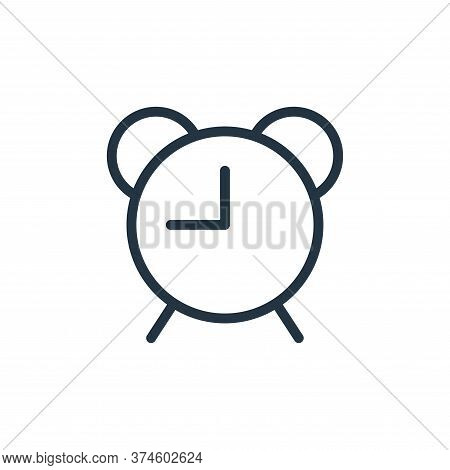 clock needles icon isolated on white background from work office supply collection. clock needles ic