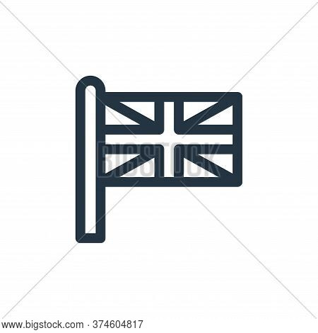 union jack icon isolated on white background from england collection. union jack icon trendy and mod