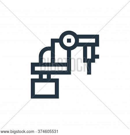 laser icon isolated on white background from manufacturing collection. laser icon trendy and modern
