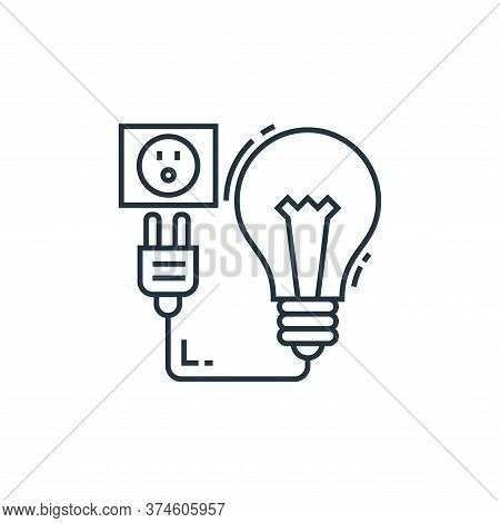 charging icon isolated on white background from environment and eco collection. charging icon trendy