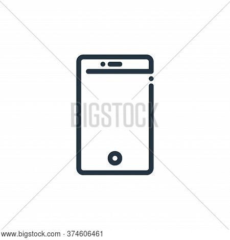 smartphone icon isolated on white background from ricon collection. smartphone icon trendy and moder