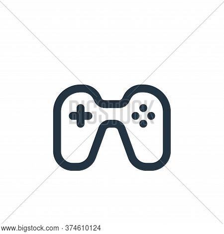 games icon isolated on white background from user interface collection. games icon trendy and modern