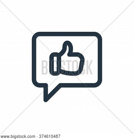 social media icon isolated on white background from web apps seo collection. social media icon trend