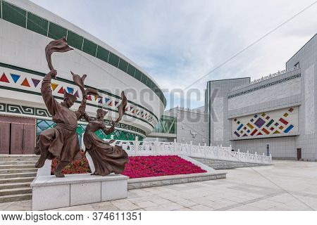 Hohhot, Inner Mongolia Province / China - July 30, 2016: Hohhot, Capital City Of Chinese Province Of
