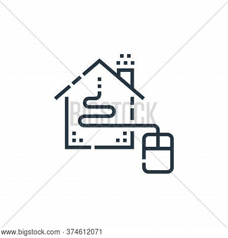 home control icon isolated on white background from smarthome collection. home control icon trendy a