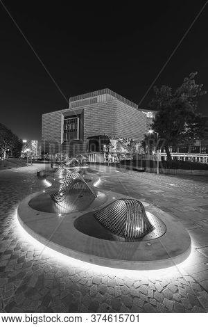 Hong Kong, China - December 03, 2019 : The Hong Kong Museum Of Art. The Museum Was Established As Th