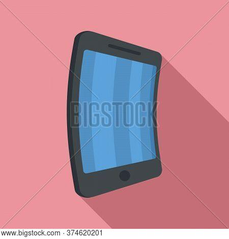 Flex Screen Icon. Flat Illustration Of Flex Screen Vector Icon For Web Design