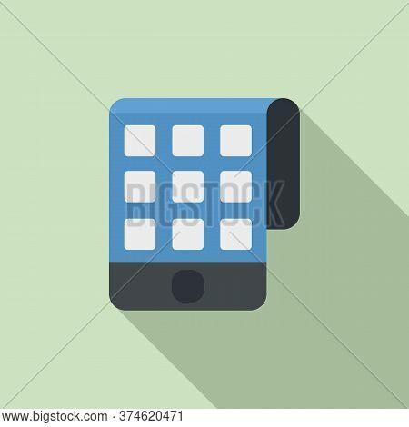 Smart Flexible Screen Icon. Flat Illustration Of Smart Flexible Screen Vector Icon For Web Design