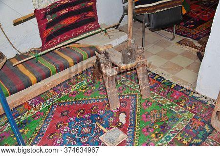 Ghardaia / Algeria - 02 Nov 2014: The Interior Of The Berber House In Sahara Desert, Algeria