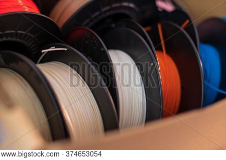 Filament For 3d Printer In Many Colors