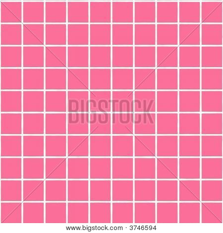 Texture of bricks for bathroom or pool poster