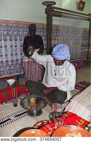 Timimun / Algeria - 04 Nov 2011: Some Berber Food In Sahara Desert, Algeria