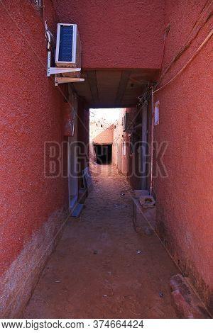 Berber House In Sahara Desert, Algeria, Africa