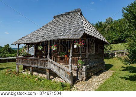 "Vladimir, Gorj, Romania - July 01, 2020:  Memorial House ""tudor Vladimirescu\"