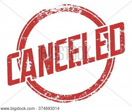 Canceled Stamp Cancel Culture Blacklisted Politically Incorrect