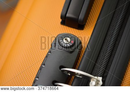Tsa Accepted Lock On Luggage Bag Or Suitcase (transportation Security Administration Of Us)