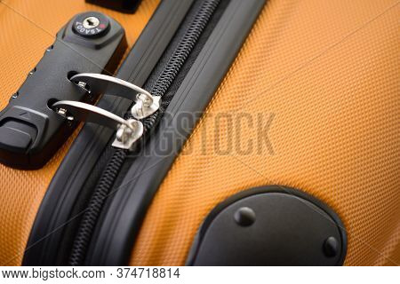 Tsa Accepted Lock On Luggage Bag Or Suitcase (transportation Security Administration Of Us). Respons
