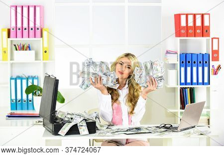 Successful Investment. Business Success. Accounting And Banking. Possibilities For Business. Loan Co