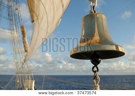 bell sailing ship