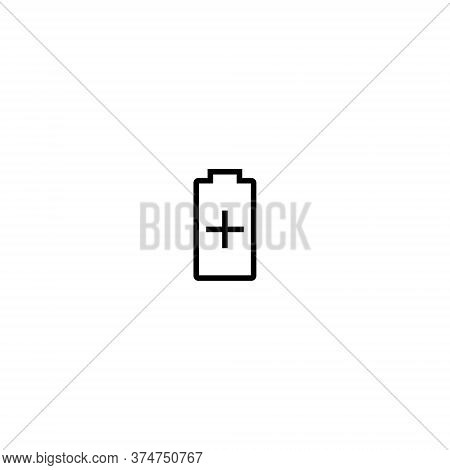 Battery Saver Icon Vector In Trendy Style Isolated On White Background
