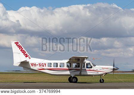 Avalon, Australia - February 27, 2015: Mahindra Aerospace (gippsland Aeronautics) Ga10 Airvan Vh-xgy