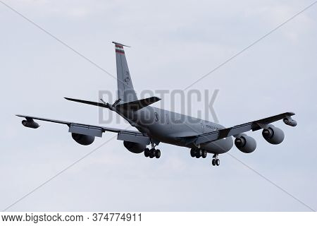 Avalon, Australia - February 21, 2015: Republic Of Singapore Air Force (rsaf) Boeing Kc-135r Stratot