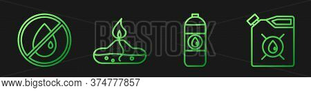 Set Line Canister For Motor Machine Oil, No Oil Drop, Alcohol Or Spirit Burner And Canister For Moto