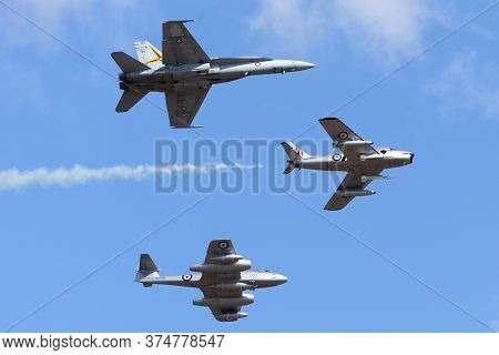 Avalon, Australia - March 1, 2015: Former Royal Australian Air Force Commonwealth Aircraft Corporati