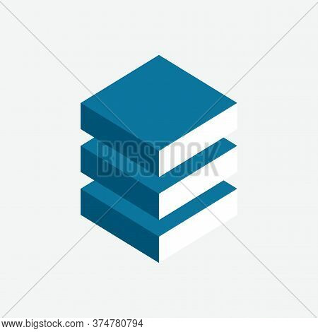 Internet Data Center Logo. Software Backup Emblem. It Industry Icon. Computing Technologies Sign. In