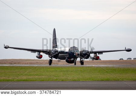Avalon, Australia - February 27, 2015: Former Royal Australian Air Force Lockheed Sp-2h Neptune Mari