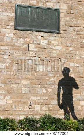 Shadow Of David In Florence