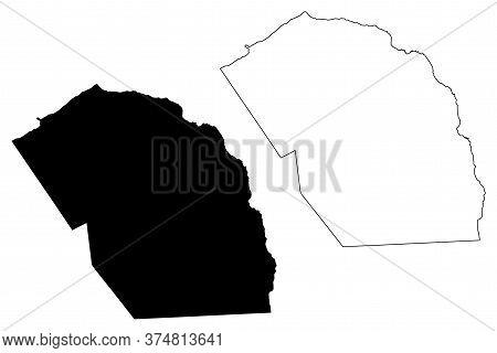Mosteiros Municipality (republic Of Cabo Verde, Concelhos, Cape Verde, Fogo Island, Archipelago) Map