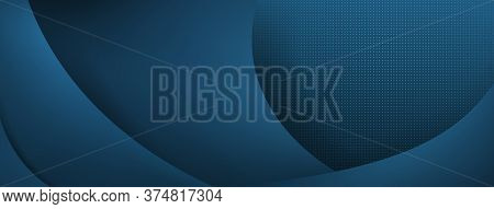 Abstract Horizontal Colored Background In Light Blue Colors