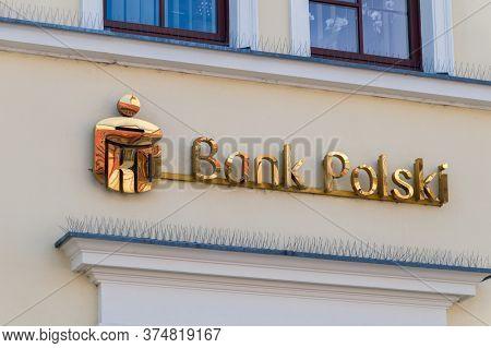 Lublin, Poland - June 11, 2020: Logo Of Pko Bank Polski.