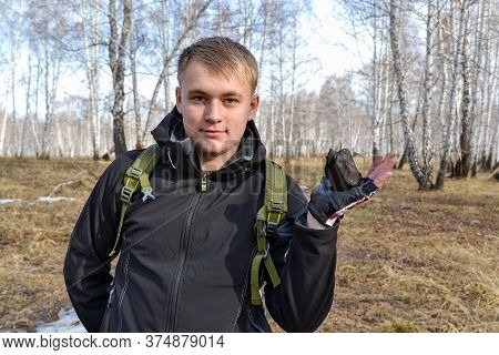 Chelyabinsk Russia april 20 2013 fragments of Chelyabinsk meteorite found in the winter and spring of 2013 near the city Chebarkul