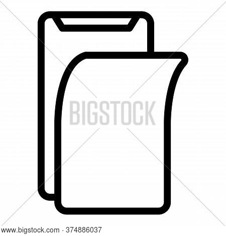 Protector Display Phone Icon. Outline Protector Display Phone Vector Icon For Web Design Isolated On