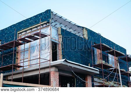 Mineral Wool House Insulation, Insulation Of The Facade Of The House With Mineral Wool