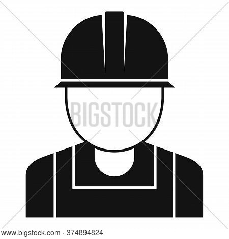 Reconstruction Worker Icon. Simple Illustration Of Reconstruction Worker Vector Icon For Web Design