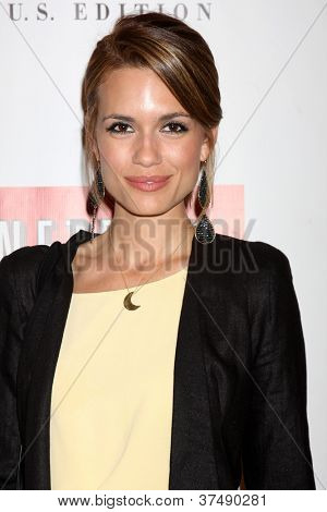 LOS ANGELES - OCT 2:  Torrey Devitto arrives at the Empire US for iPad Launch at Sunset Tower Hotel on October 2, 2012 in West Hollywood, CA