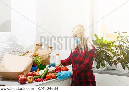 Buy It Now. Happy Woman Presenting Product. Promoting Product Or Service. Product Promotion. Product