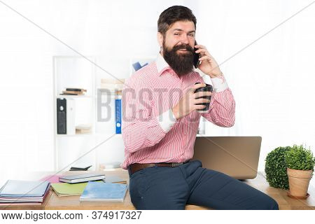 Boss Office. Man Launched Startup Project. Ceo Concept. Office Routine. Office Worker Formal Suit. M