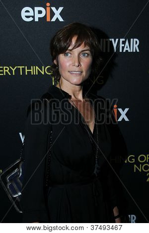 NEW YORK-OCT 3: Carey Lowell attends 'Everything Or Nothing: The Untold Story Of 007' premiere at the Museum of Modern Art on October 3, 2012 in New York City