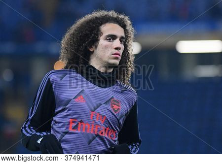 London, England - January 21, 2020: Matteo Guendouzi Of Arsenal Pictured Ahead Of The 2019/20 Premie
