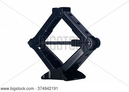 Car Jack Isolated On A White Background