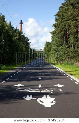 Road For Pedestrians